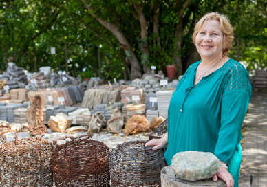 Mimi Rupp is a business worman and founder of Stone Etc. in Port Elizabeth